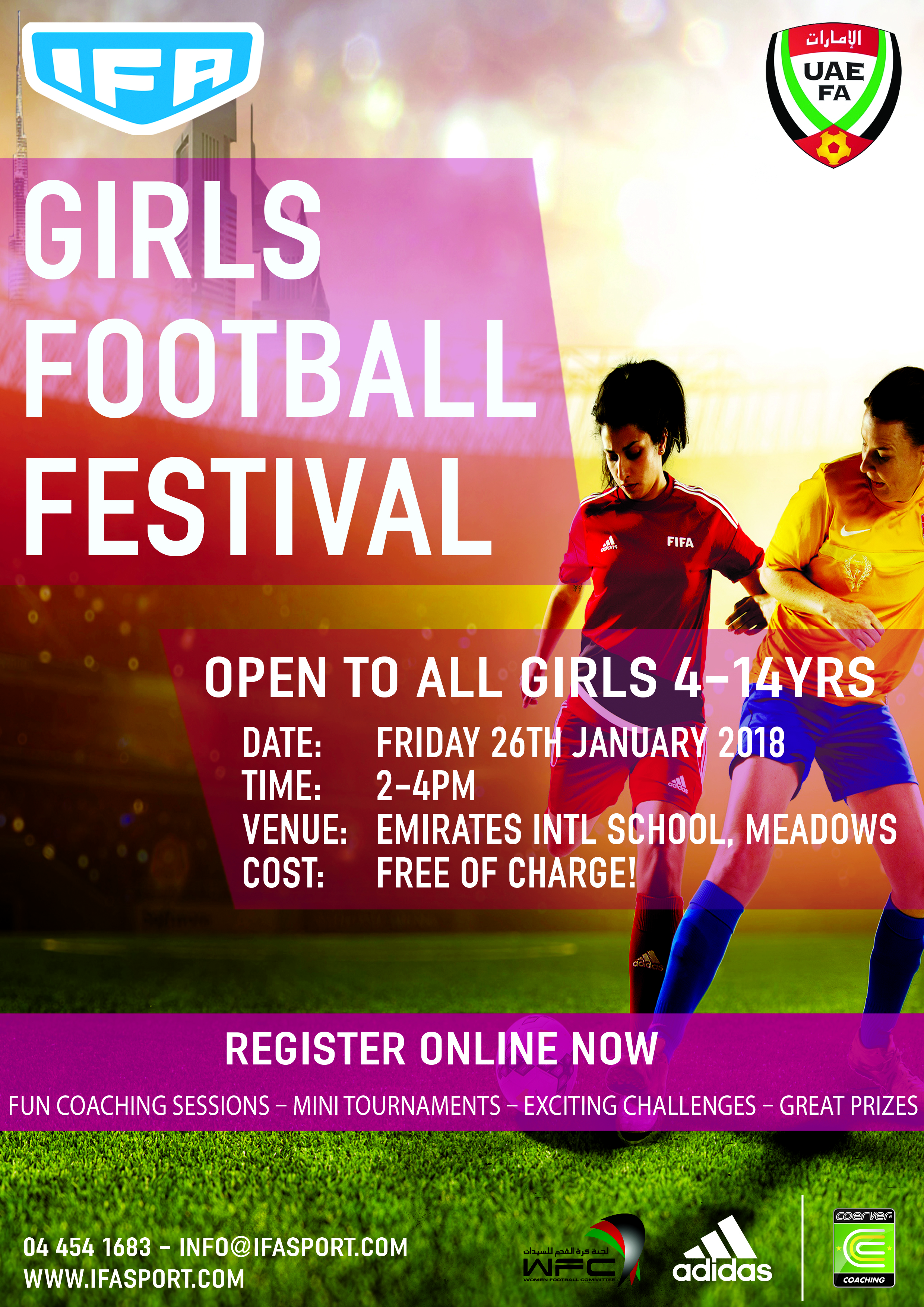IFA Girls Football Festival